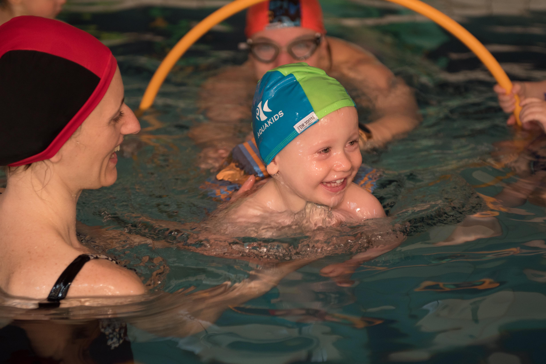 plávanie pre bábätka
